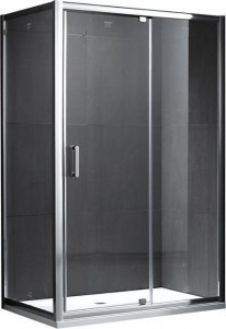 S28131B-A100 (S28191B + A100) Душевой уголок Gemy Sunny Bay, 120 х 100 х 190 см, стекло прозрачное