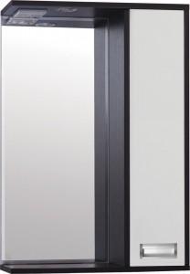 Зеркало-шкаф Style Line Эко Стиль W Панда 50/С белый/венге