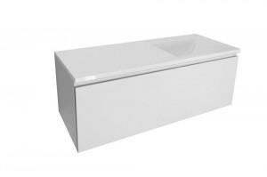 Тумба с раковиной Эстет Dallas Luxe 100 см, 1 ящик, левая /правая