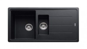114.0259.949 Мойка Franke BASIS BFG 651,, гранит, установка сверху, оборачиваемая, цвет графит, 97*50 см