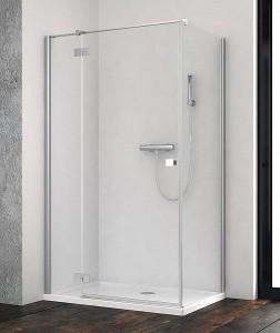 385043-01-01L/384051-01-01 Душевой уголок Radaway Essenza New KDJ 80 x 80 см, левая дверь
