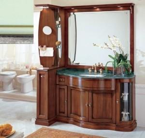 Комплект мебели Eurodesign IL Borgo Композиция № 7, Verde Acqua Silver/Верде аква с серебром