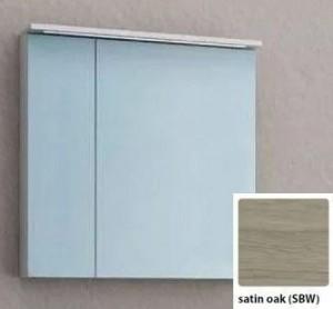Зеркальный шкаф со светодиодной подсветкой Kolpa San Adele 70 TO 70 SBW, цвет - светлый дуб (satin oak)