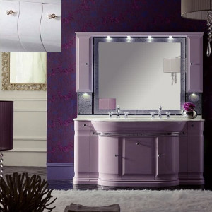 Комплект мебели Eurodesign Luxury Композиция № 6, Bianco Lucido/Белый глянцевый