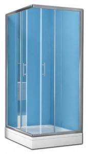 Q-LINETKK90+PEARL90 Душевой комплект Kolpa-San Q-LINE, 90 х 90 х 190, стекло прозрачное