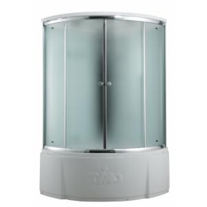 T-8835 F Душевая кабина Timo Comfort Fabric Glass, стекло матовое, 135 x 135 см