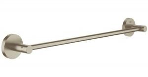 40366EN1 GROHE Essentials Держатель для банного полотенца 600мм, никель матовый
