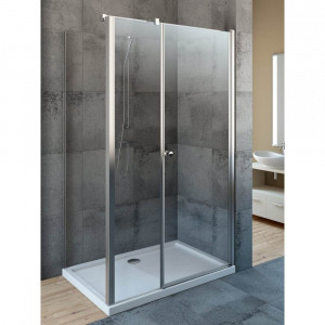 37551-01-01NL Душевой уголок Radaway EOS KDS 100L/Rx90, 90 х 100 х 197 см, стекло прозрачное