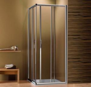 Душевой уголок 2B Box Docce HIT, 90 х 80 х 186, стекло прозрачное