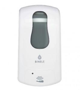 Диспенсер для спрей-жидкости сенсорный Binele eSpray DE13BW, картриджный, цвет - белый