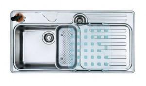 127.0016.449 Мойка Franke LARGO LAX 214,, установка сверху, SlimTop, левая, нержавеющая сталь, полированная, 100*51 см