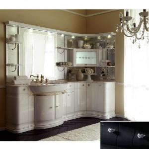 Комплект мебели Eurodesign Luxury Композиция № 2, Nero Lucido/Черный окрашеный