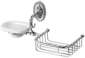 Корзина с мыльницей Migliore Edera ML.EDR-60.326.CR - хром