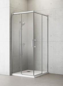387063-01-01L/387062-01-01R Душевой уголок Radaway Idea KDD 110 x 100 см, стекло прозрачное