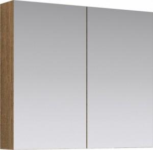 Зеркальный шкаф Aqwella МС.04.08/DS, цвет - дуб сонома, 80 см