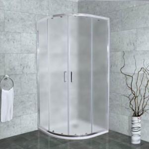Altti-609 F Душевой уголок Timo Foggy Glass, стекло матовое дымчатое, 90 х 90 х 190 см