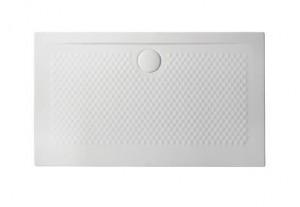 PDR020 01; 00 Поддон ArtCeram Texture 120 х 70 х 5,5 см,, прямоугольный, цвет - белый глянцевый, из искусственного камня