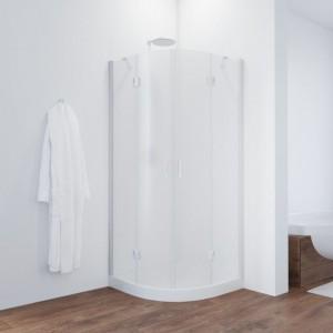 AFS 0120 01 10 Душевой уголок Vegas Glass AFS, 120 x 120 см, белый, стекло сатин