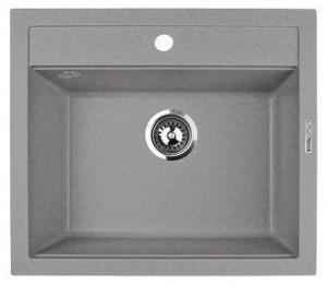 Q2.SCA Кухонная мойка Lava, цвет SCANDIC серый, 56*50,5 см