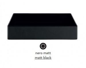 SCL001 17; 00 Раковина ArtCeram Scalino 38, накладная, цвет - черный матовый, 38 х 38 х 11.5 см