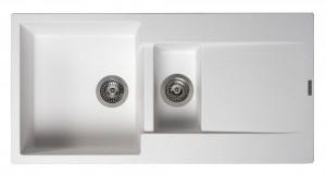 R30950 Мойка кухонная Reginox Amsterdam 15 100 x 50 см Pure White