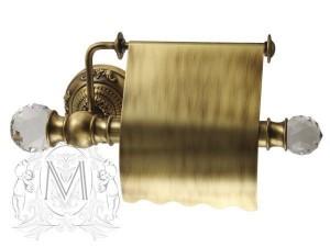 Бумагодержатель Migliore.CRistalia ML.CRS-60.206.BR - бронза