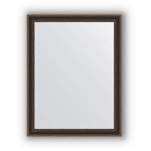 Зеркало в багетной раме Evoform Definite BY 1328 35 x 45 см, витой махагон
