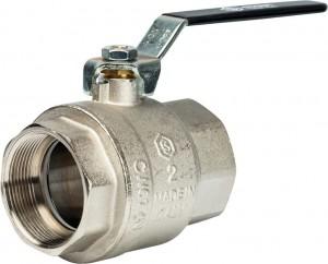 SVB-0001-000050 Шаровый кран Stout SVB-0001 2 вн-вн, полнопроходной, ручка рычаг