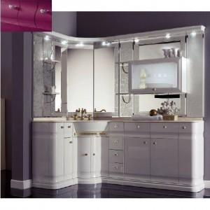 Комплект мебели Eurodesign Luxury Композиция № 15, Prugna Lucido/Сливовый глянцевый