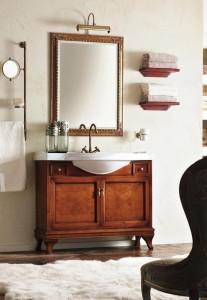 Комплект мебели Labro Legno MARRIOT Composizione M101, вишня/бронза, 105 см