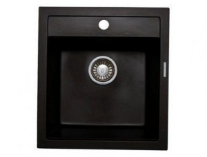 Q1.LAV Кухонная мойка Lava, LAVA чёрный металлик