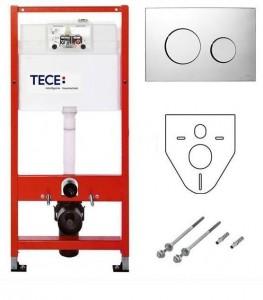 K400626 Инсталляция TECE TECEbase К400626 с кнопкой, для унитаза