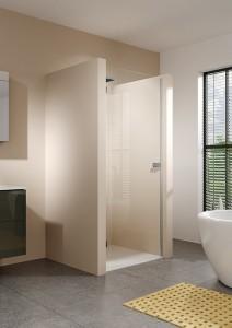 GQ0702001 Душевая дверь в нишу Riho Scandic Soft Q102 90 x 200 см