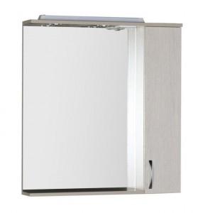 Зеркало-шкаф Aquanet Донна 80 00169039, цвет белый дуб