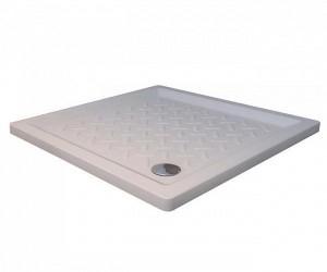 19170199-01 Душевой поддон RGW CR-099 90 x 90 см, керамика, квадратный