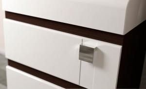 Шкаф-пенал напольный Velvex Crystal Lambo 200 венге