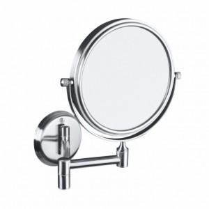 Косметическое зеркало Bemeta Neo 106301705 18.4 x 41.2 x 20 см, круглое, хром матовый