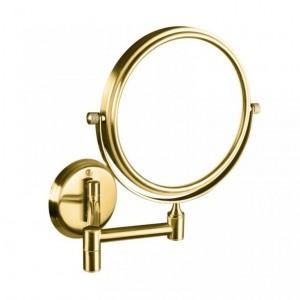 Косметическое зеркало Bemeta Retro 106101698 18.4 x 41.2 x 20 см, круглое, золото