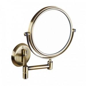 Косметическое зеркало Bemeta Retro 106101697 18.4 x 41.2 x 20 см, круглое, бронза