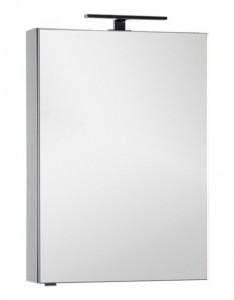Зеркало-шкаф Aquanet Алвита 70 00183990, цвет серый антрацит