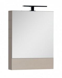 Зеркало-шкаф Aquanet Нота 50 (камерино) 00172681, цвет светлый дуб