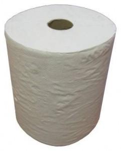 Бумажные полотенца Ksitex 299/1 белые (Блок: 6 рулонов)