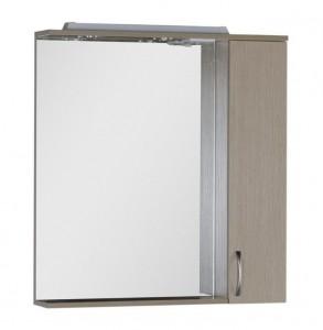 Зеркало-шкаф Aquanet Донна 80 00168930, цвет светлый дуб