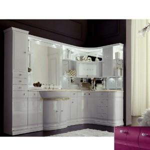 Комплект мебели Eurodesign Luxury Композиция № 5, Prugna Lucido/Сливовый глянцевый