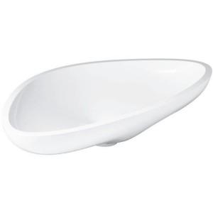 42300000 Раковина Axor Massaud, 80 х 45 х 14.4 см накладная, цвет белый