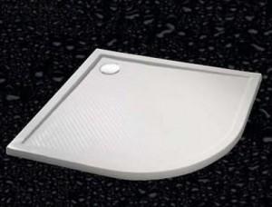 202154.055 Душевой поддон Huppe PURANO 100 x 90 x h4 см,, R504, из искусственного камня