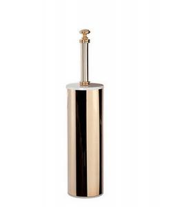 Ершик для туалета ALL.PE Harmony HA020bi/oro, белый/золото