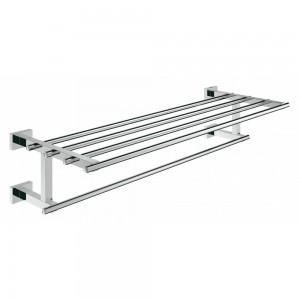 40512001 GROHE Essentials Cube Металлическая полка для полотенец, хром