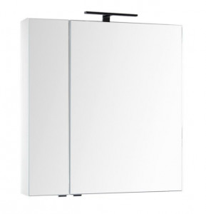 Зеркало-шкаф Aquanet Эвора 80 00184936, цвет белый