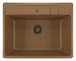 ML-GM15 (307) Кухонная мойка Mixline, врезная сверху, цвет - терракотовый, 56 х 50.5 х 20 см